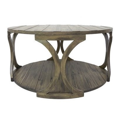 Hawthorne Estate Textured Cocktail Table by Crestview Collection