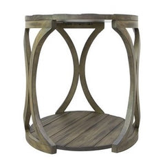 Hawthorne Estate Textured End Table by Crestview Collection