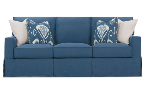 Custom Slipcover Sofa by Rowe