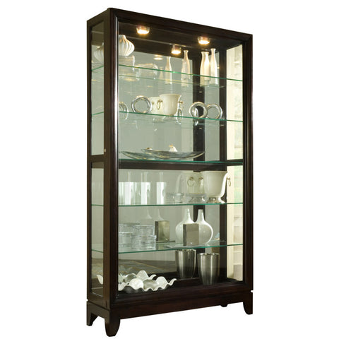 2-Way Sliding Door Curio by Pulaski