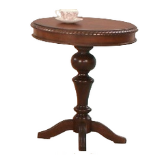 Mountain Manor Round Chairside Table  by Progressive Furniture