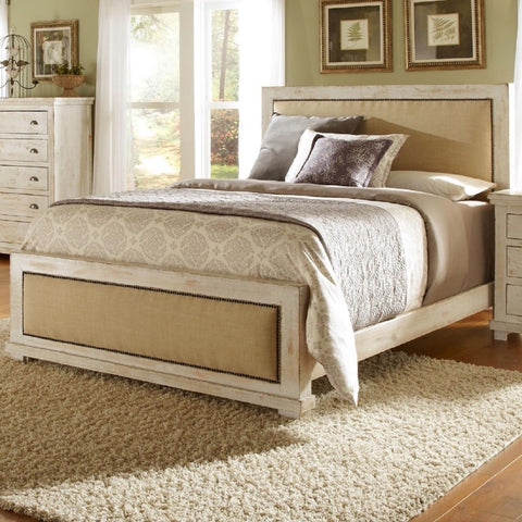 Willow King Upholstered Bed by Progressive