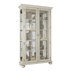 Farmhouse 4 Shelf Curio Cabinet by Pulaski