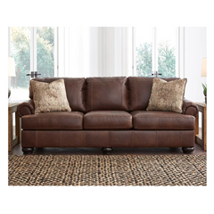 Beamerton Leather Match Sofa by Signature Design by Ashley