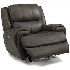Nance Leather Power Recliner by Flexsteel