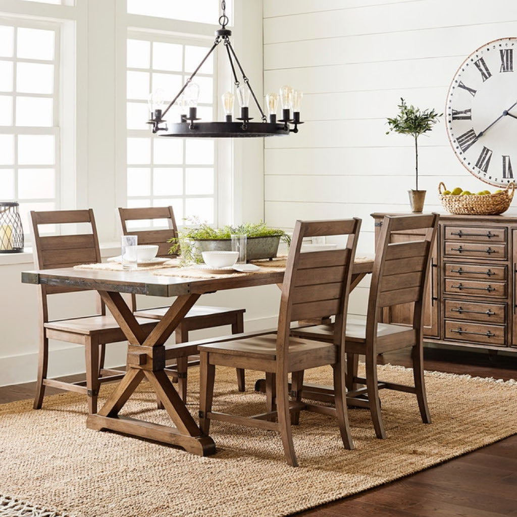 Farmhouse Chic 7-Piece Dinette by John Thomas Furniture