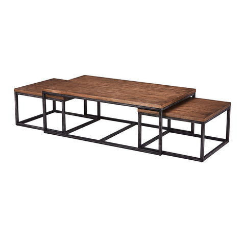 7326 Nesting Coffee Tables by Lane Furniture