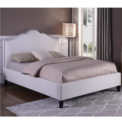 Jamie Flour Upholstered Queen Bed by Parker House