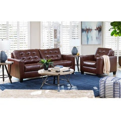 Altonbury Leather Match Sofa by Signature Design by Ashley