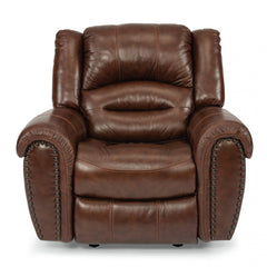 Town Leather Recliner by Flexsteel