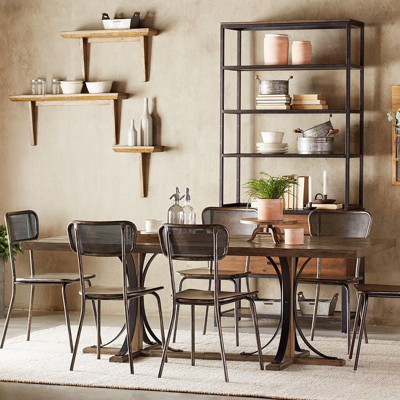 7-Piece Iron Trestle Dinette by Magnolia Home