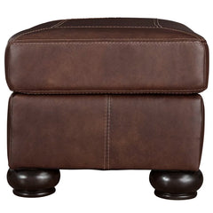 Beamerton Leather Match Ottoman by Signature Design by Ashley
