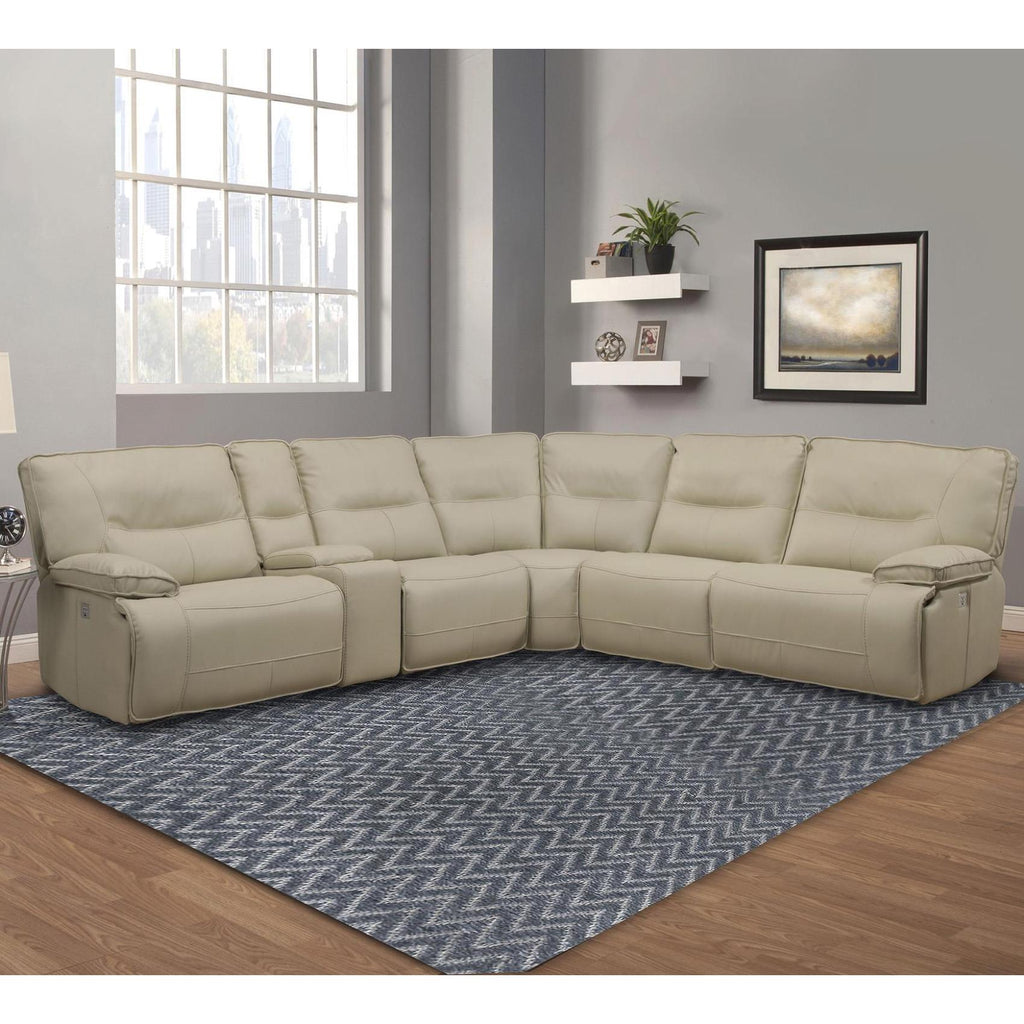 Good Spartacus Oyster 6 Piece Sectional By Parker House