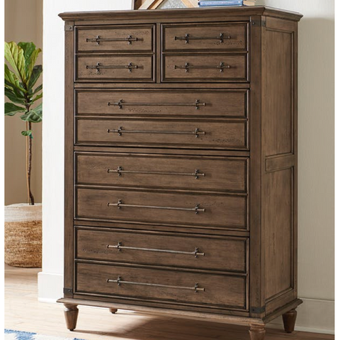Farmhouse Chic 5-Drawer Chest by John Thomas Furniture