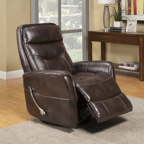 Gemini Truffle Swivel Glider Recliner by Parker House