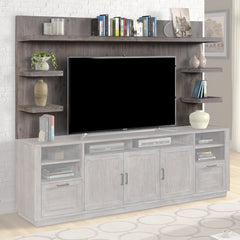 "Vector TV Hutch Fieldstone 89"" by Parker House"