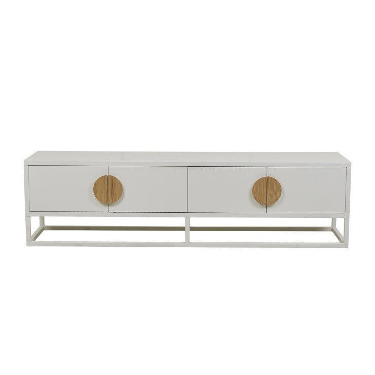 benjamin entertainment unit white