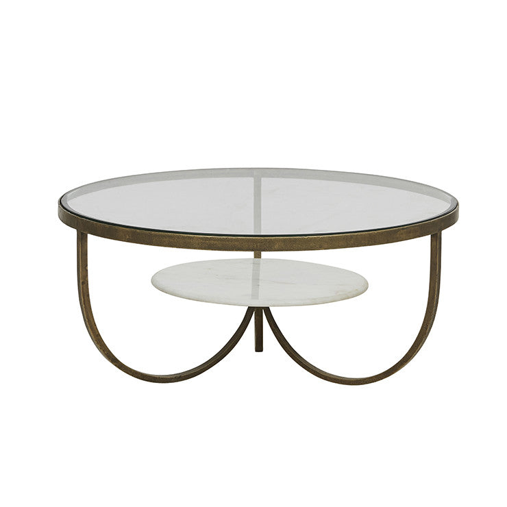 amelie curve coffee table