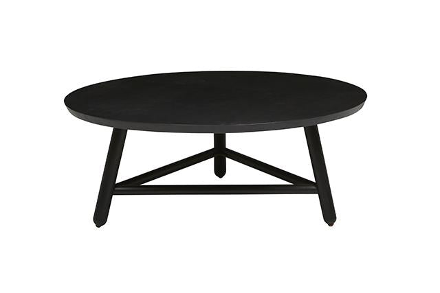 linea tri coffee table small charcoal