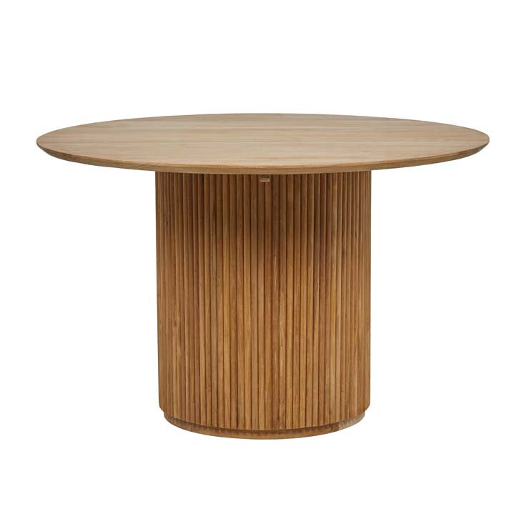 tully four seat dining table teak