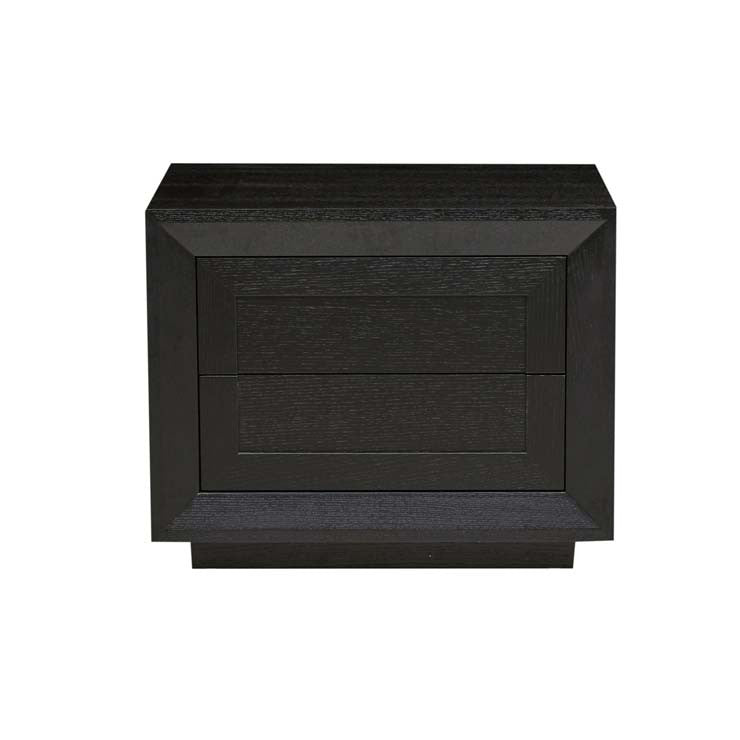austin low bedside matt black