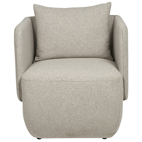 felix cocoon chair light grey