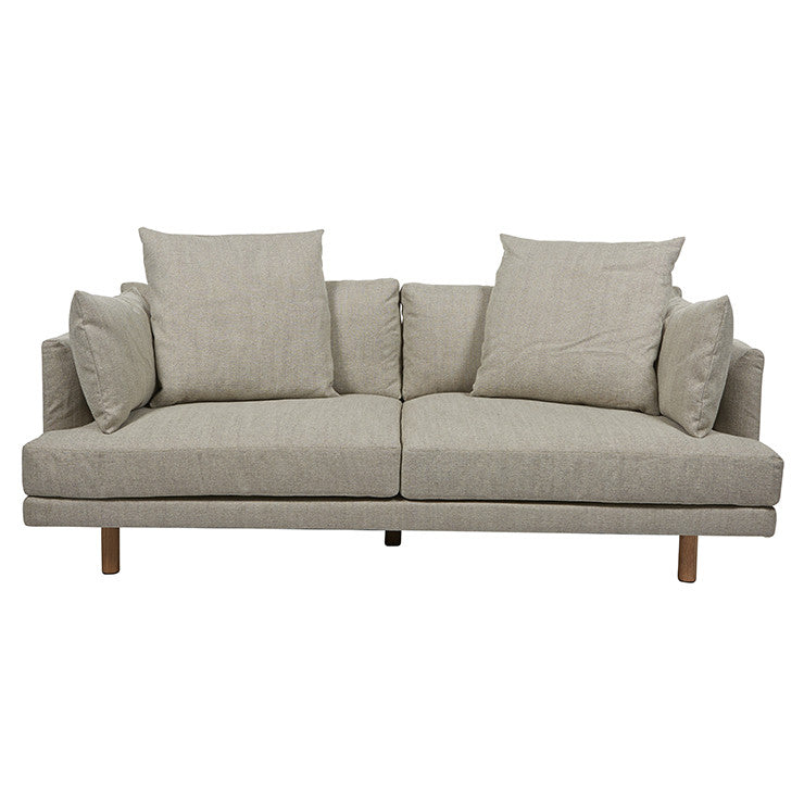 vittoria iris three seater sofa stone