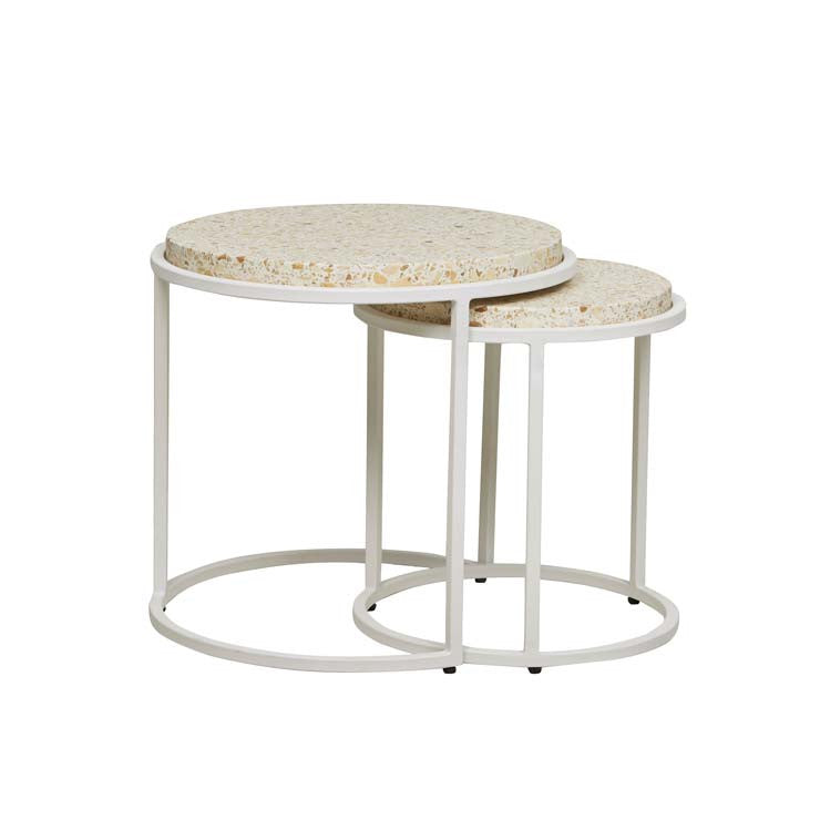 bondi nesting tables sand