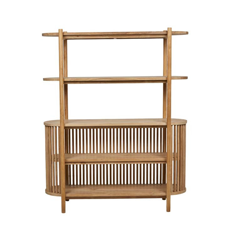 tully bookcase teak