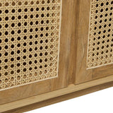 willow curve buffet teak