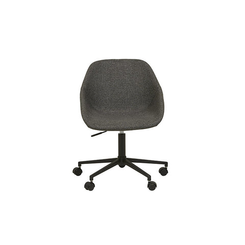 cooper office chair woven charcoal