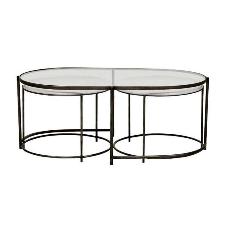 amelie nest coffee table black