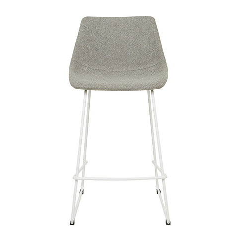 arnold barstool with white legs