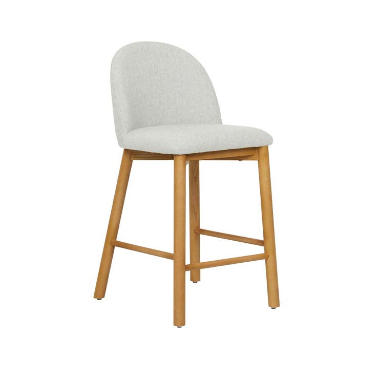 cohen barstool natural tweed