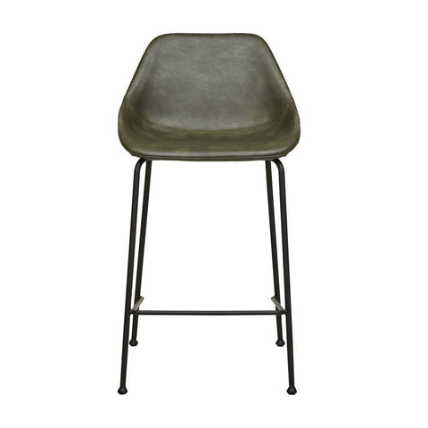 ronald barstool vintage green