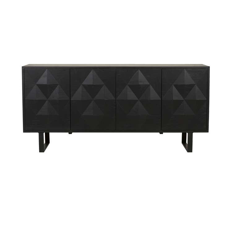 leopold diamond buffet black oak