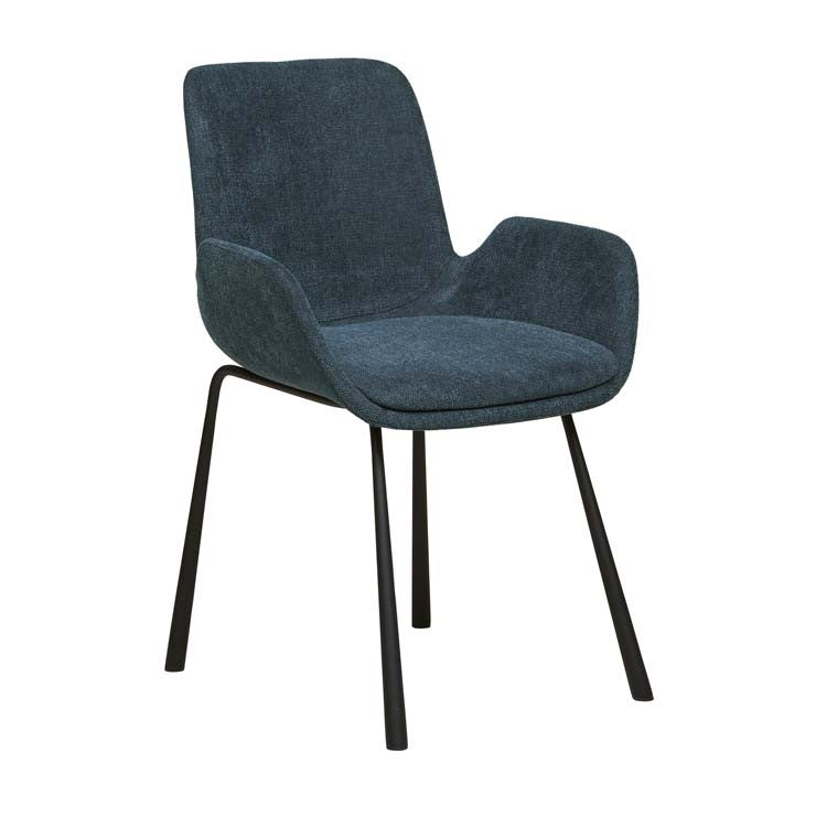 annabel dining chair deep blue