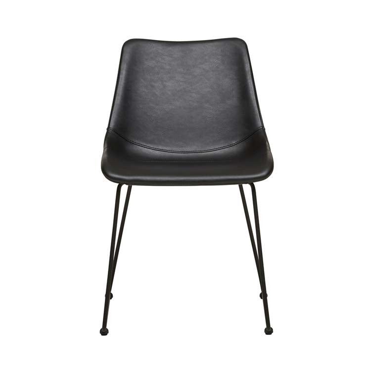 arnold dining chair vintage black
