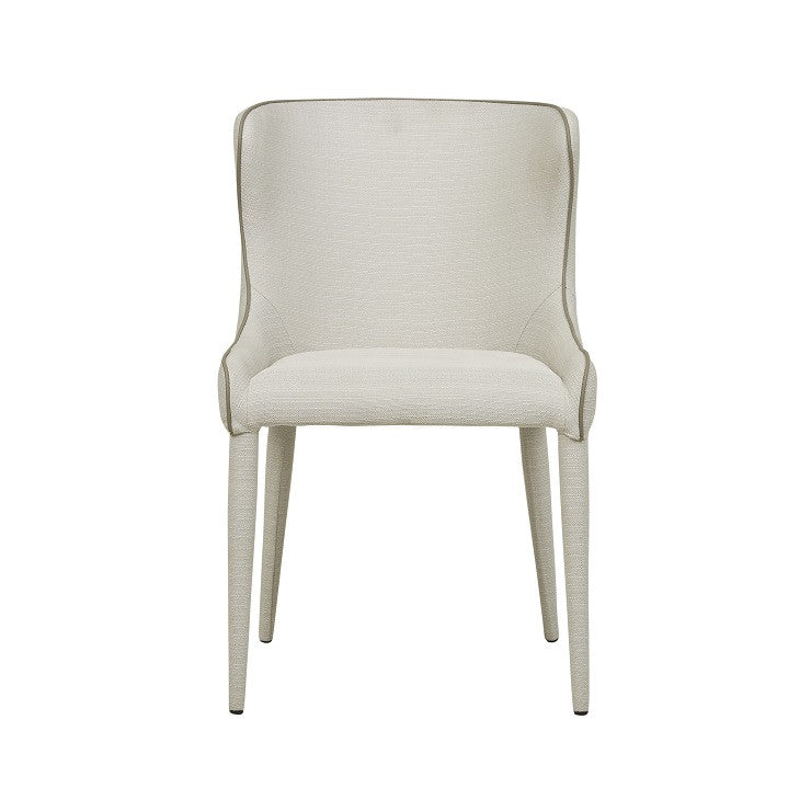 claudia dining chair natural
