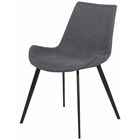 cleo dining chair gunmetal