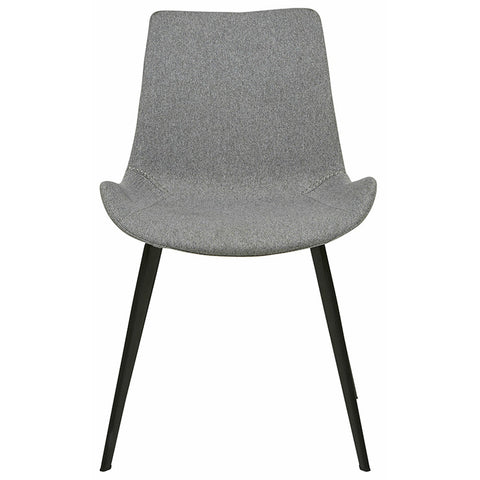 cleo dining chair grey speckle
