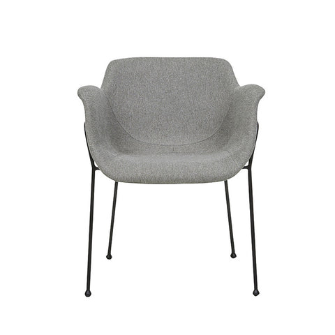 etta dining chair grey speckle