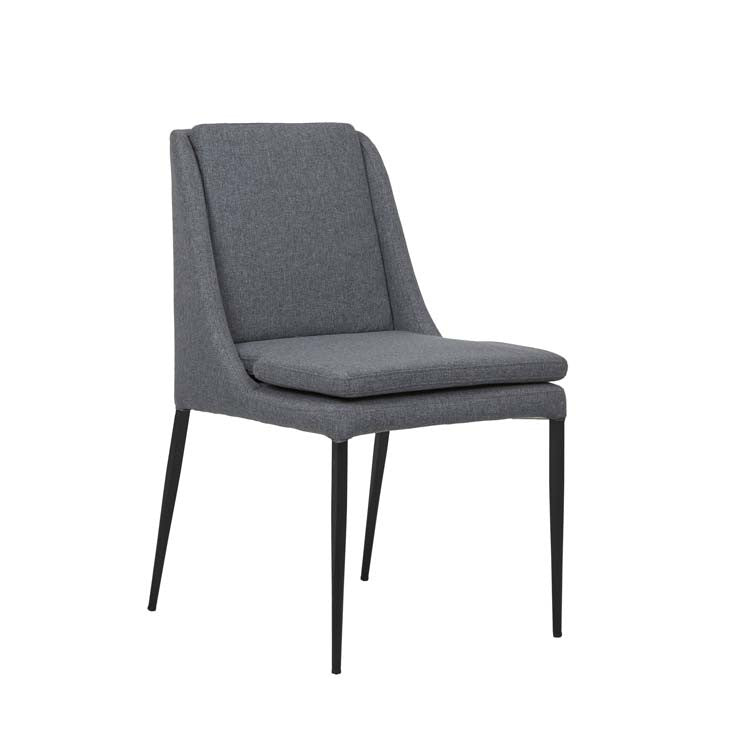 hannah dining chair iron grey