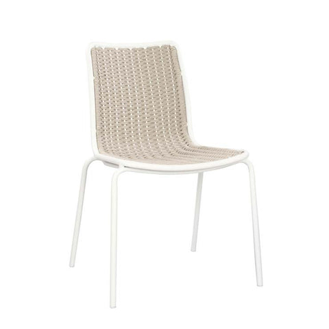villa dining chair white