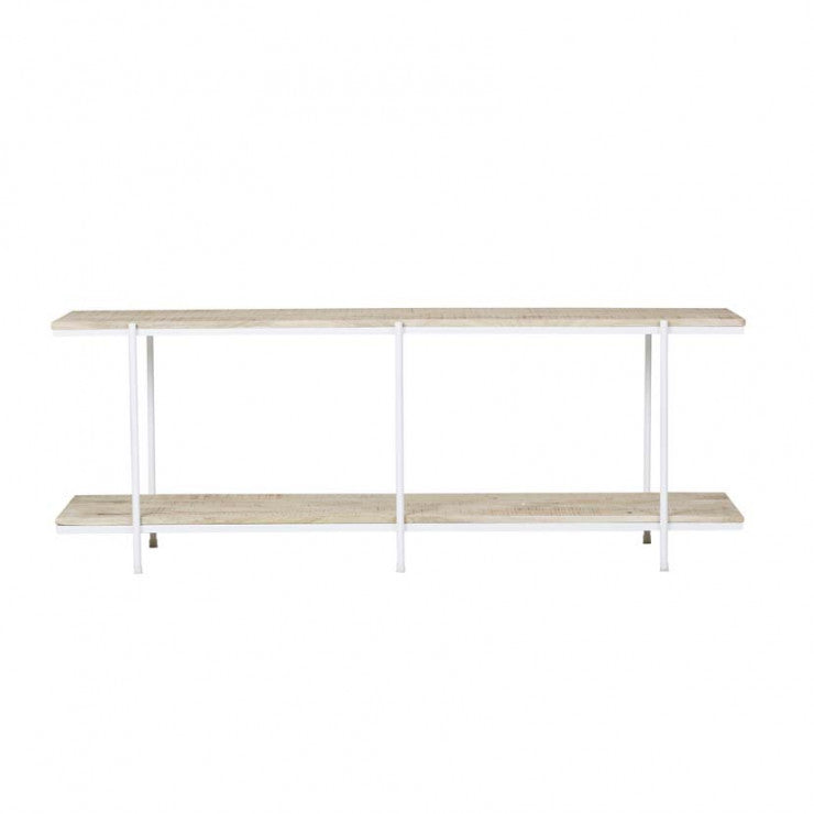 flinders low console white