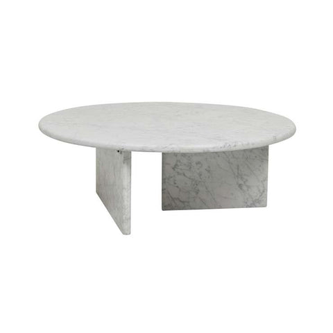 amara pebble coffee table white