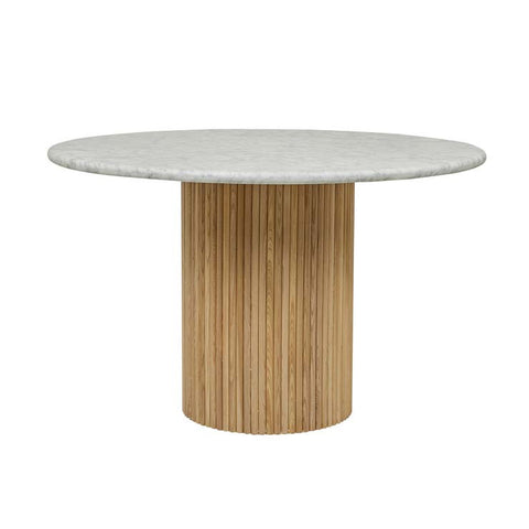 benjamin ripple marble dining table natural