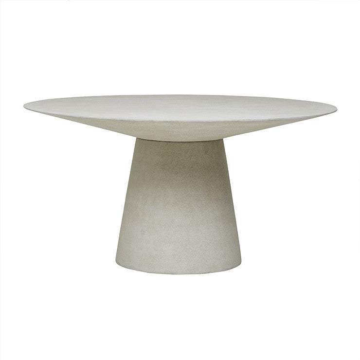 livorno dining table six seater grey speckle