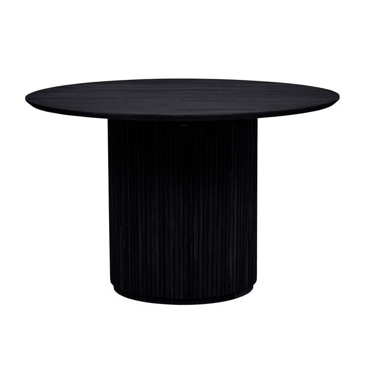 tully six seat dining table ebony
