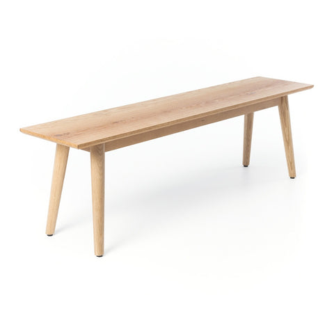 Sasha oak bench